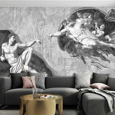 手绘素描壁纸哪个品牌好