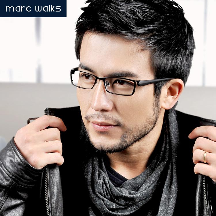 超轻纯钛眼镜架男款