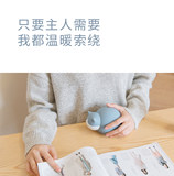 Cute cat watering small warm hand treasure hot water bag mini portable creative silicone student hot water bag warm baby