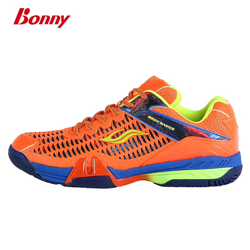 Bonny/波力大师005/006专业羽毛球鞋 男女儿童防滑透气比赛运动鞋