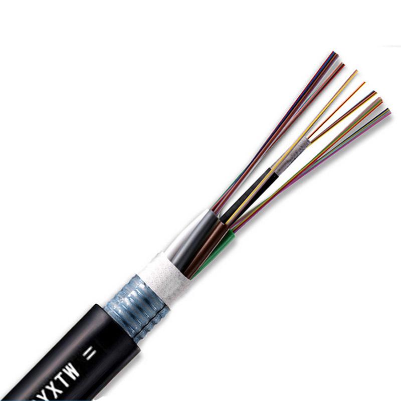 室外光纤 24芯单模光缆 GYTA/S 24B1铠装层绞光缆电信移动