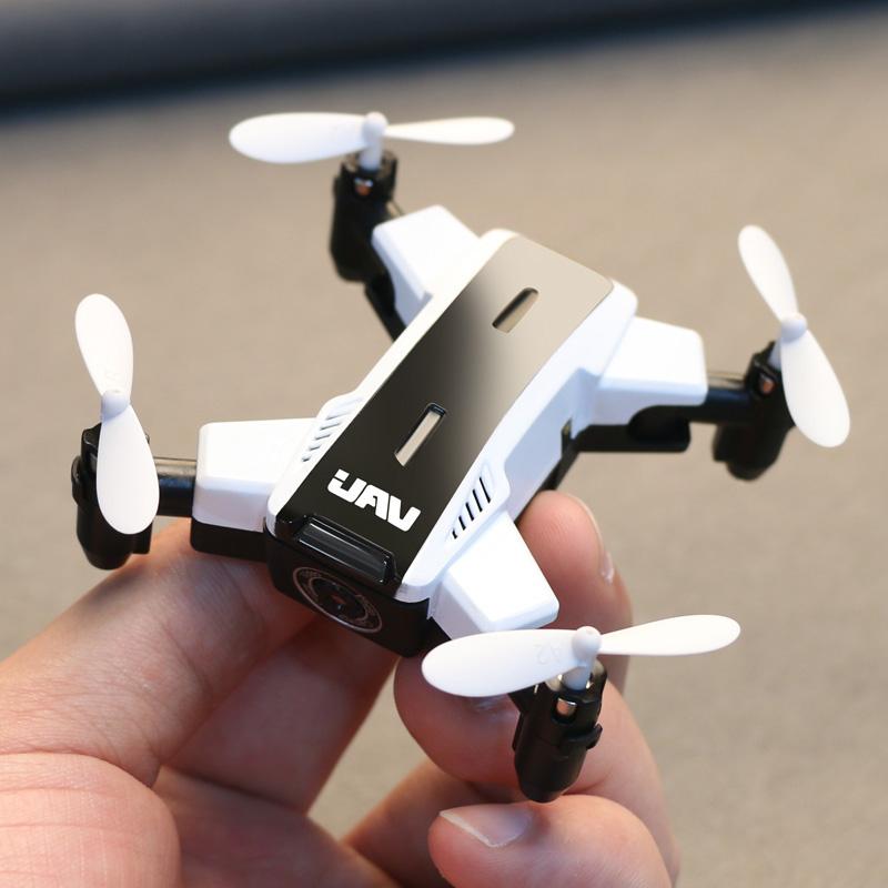 迷你折叠遥控飞机高清航拍四轴直升机耐摔充电动儿童玩具无人机