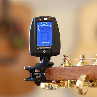阿诺玛吉他调弦器 古典/民谣木吉他电子调音器校音器 吉它调音器双十一折扣