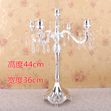 European candlestick wedding wedding romantic candlestick home hotel candlelight dinner decorations antique candle stage props