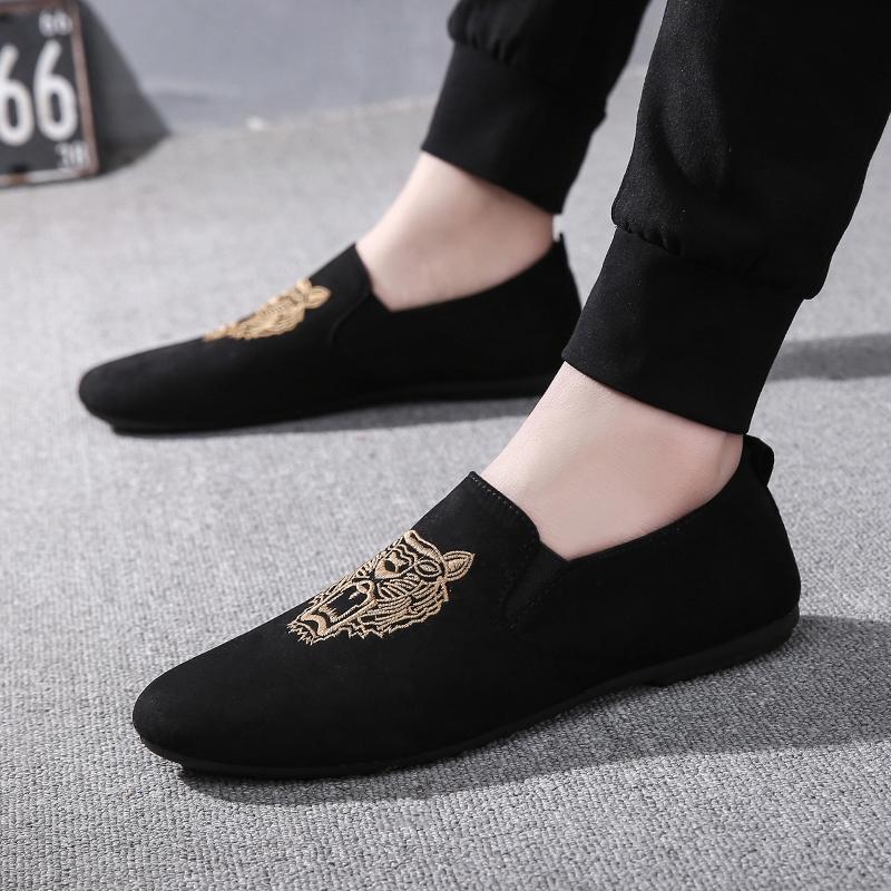 青春潮流豆豆鞋