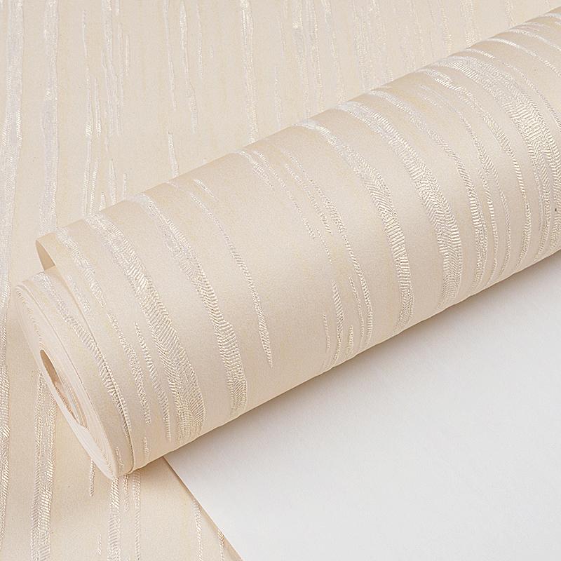 天屏山现代简约壁纸 3D立体竖条纹自粘墙纸 客厅卧室书房满铺搭配
