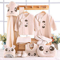 Baby clothes color cotton newborn gift box autumn and winter set cotton baby 0-3 months spring maternal and child supplies