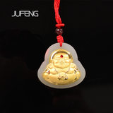 Jufeng Jewelry Buddha Gold Inlay jjdz003