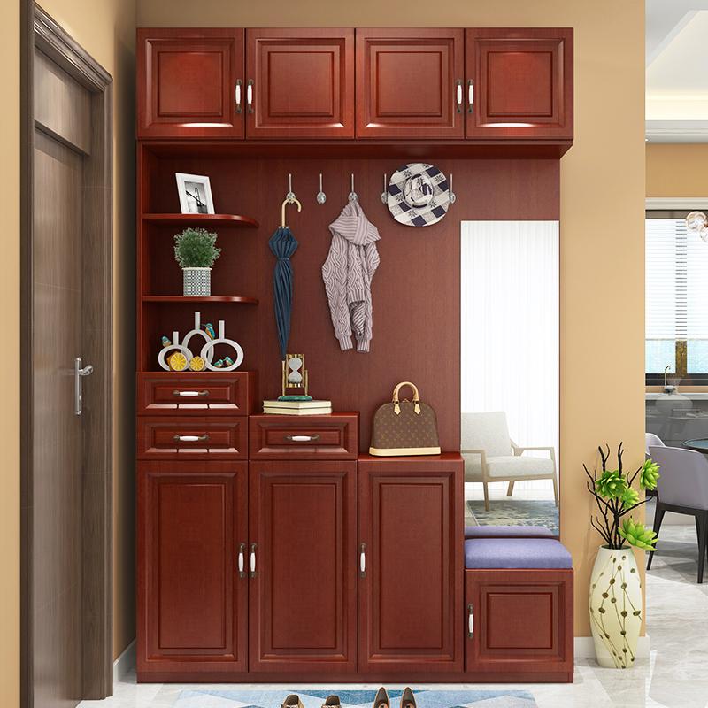 现代简约门厅柜玄关柜鞋柜组合欧式储物柜装饰柜隔断柜衣帽柜M-85