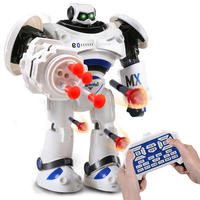 Robot intelligent remote control chubby early education dialogue voice programming electric dancing learning children boy toys