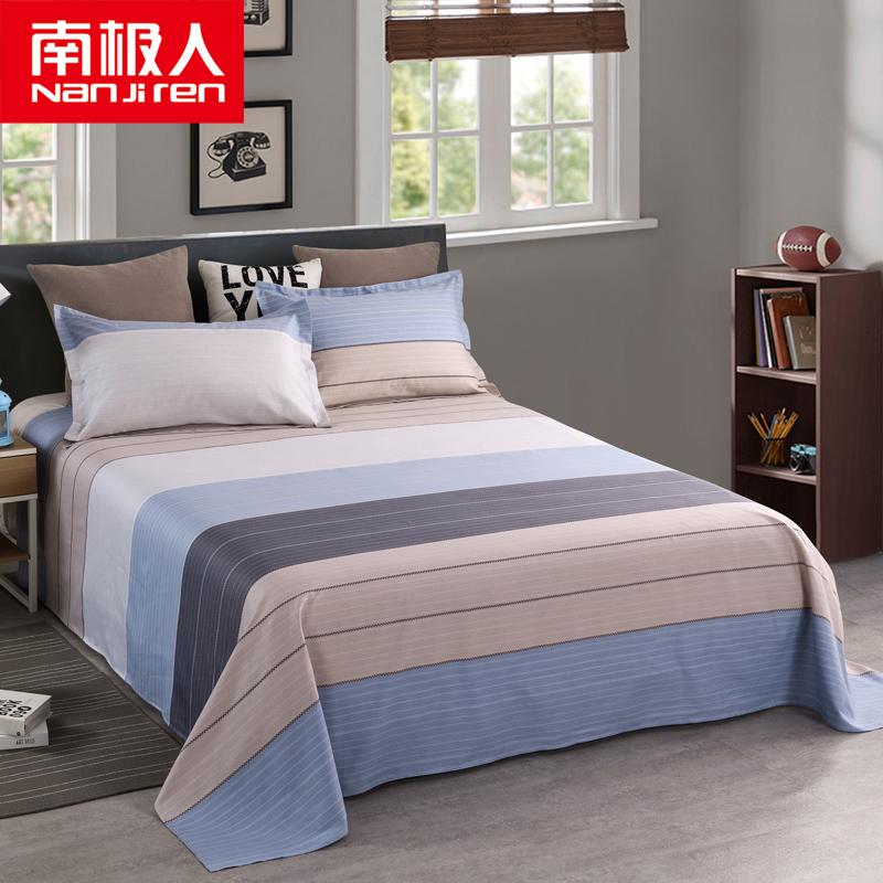 纯棉布料床