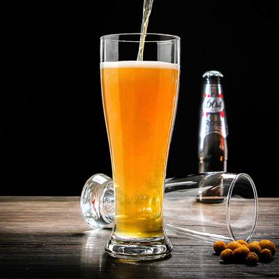 弓箭乐美雅德国小麦啤酒杯精酿 大号扎啤杯收身啤酒杯KTV酒吧杯子