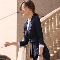 美容师夏装女时尚律师职业装气质女神范正装工装套装经理工作服