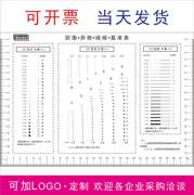 GODA Stain Card Standard Point Line Ruler Ruler Alignment Card Appearance Inspection Rule Scratch Foreign Body Card