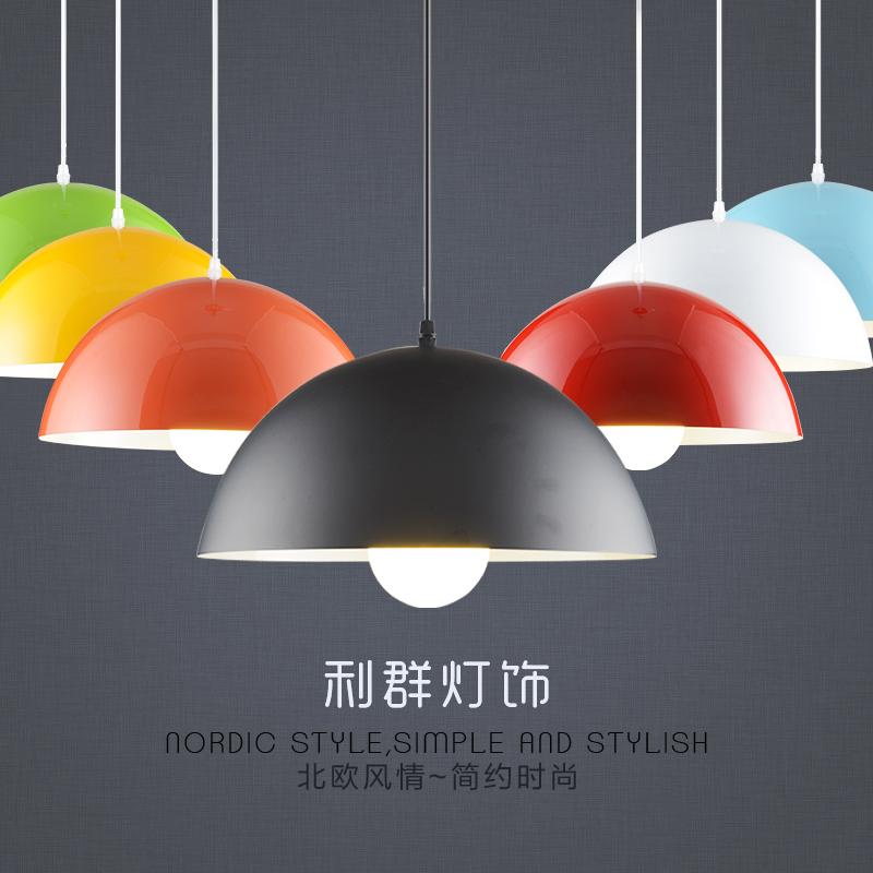 圆形吊灯创意个性