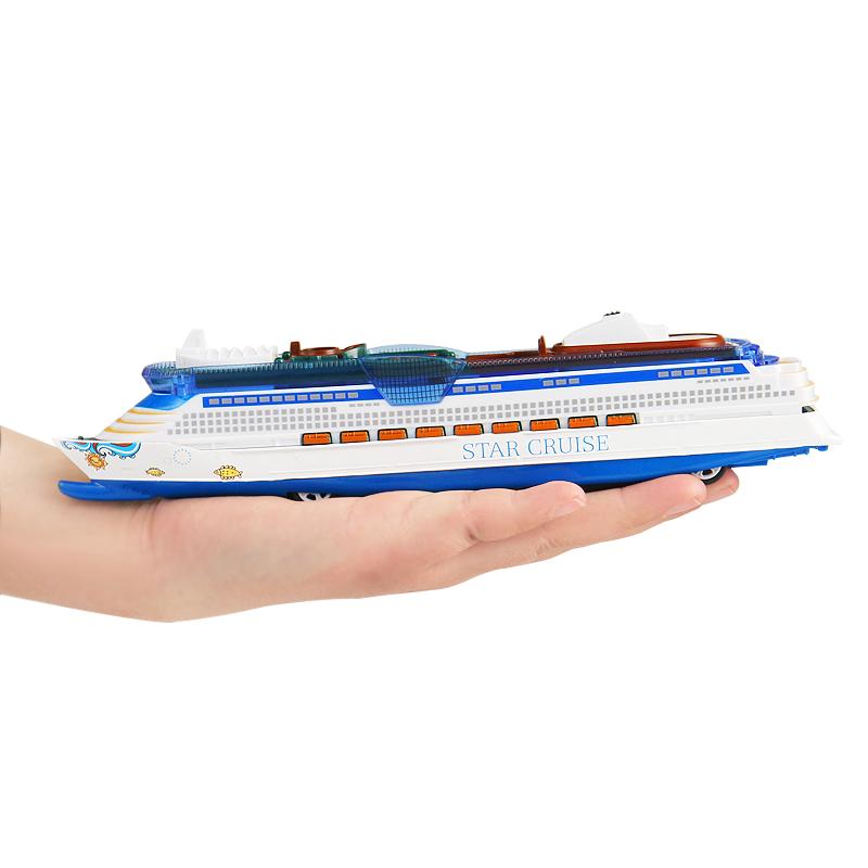 合金轮船玩具航空母舰无人飞机航模大型游轮回力声光直升机战斗机