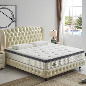 新品皮床北欧小户型真皮床1.8米实木皮艺床公主床双人床卧室婚床