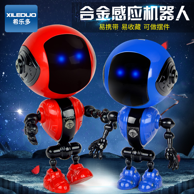Children's Intelligence Early Learning Robot Toys Charging Voice Dialogue Men and Women Kids Baby