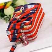 原宿大容量6寸手机包女士买菜钱包 手拿三拉多袋分类学生零钱包