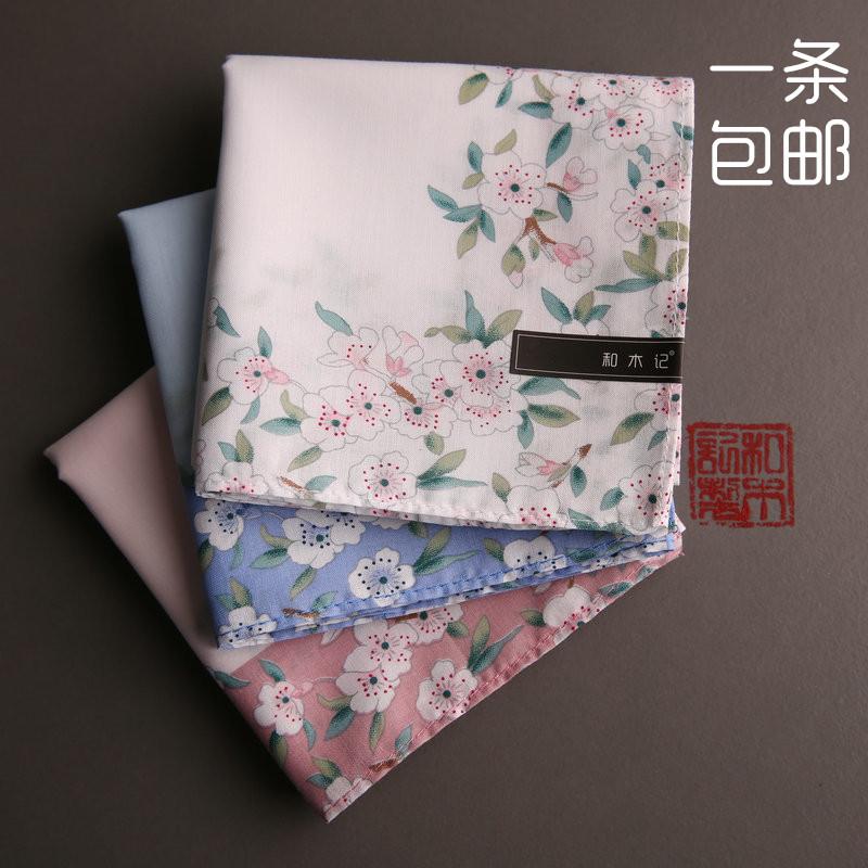 纯棉礼品手帕