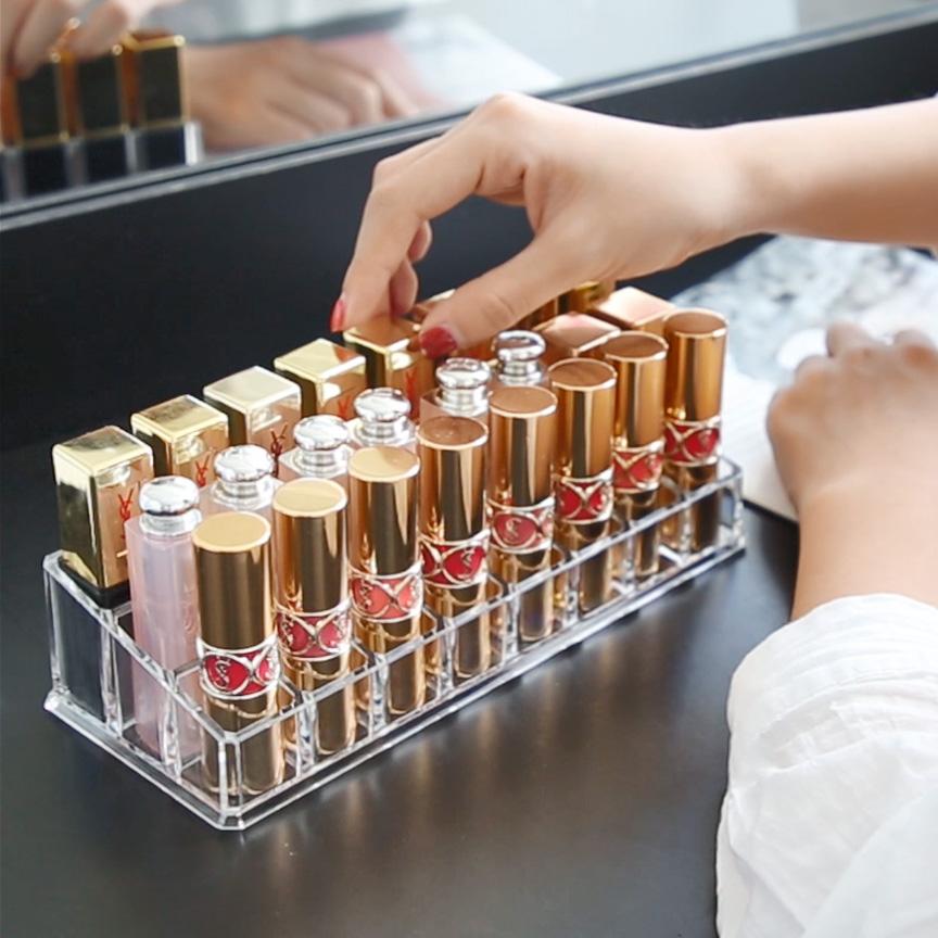 化妆品收纳盒水晶