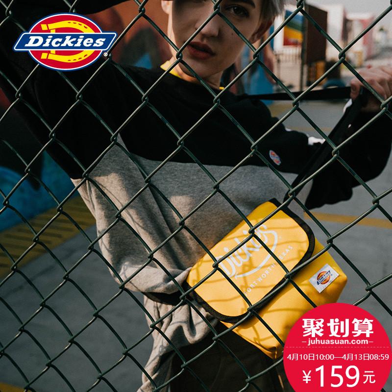 Dickies春季新品时尚单肩包纯色logo小包潮流休闲斜挎包DK004469图片