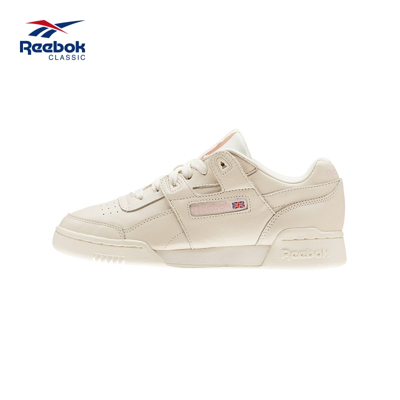 Reebok/锐步女鞋WORKOUT LO PLUS低帮休闲运动鞋板鞋EGL59 CN4610
