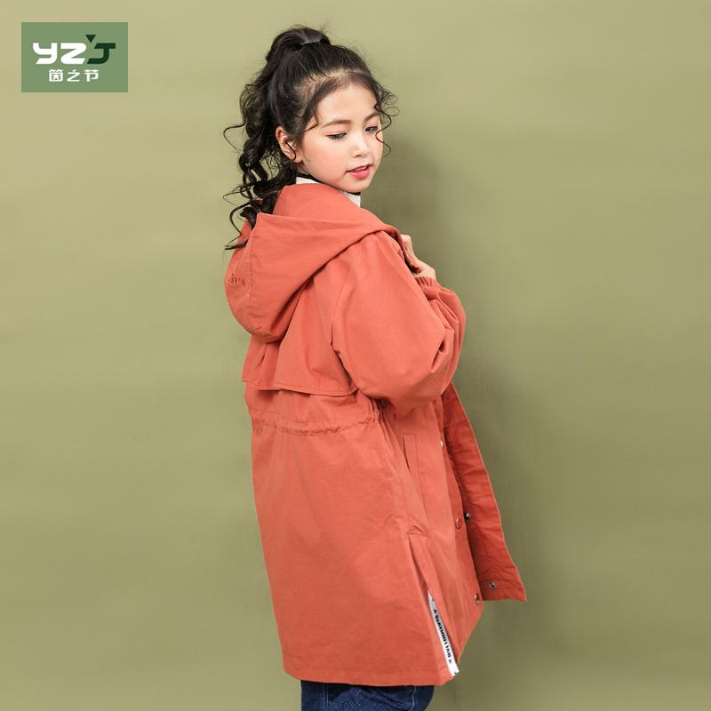 风衣棉袄女童
