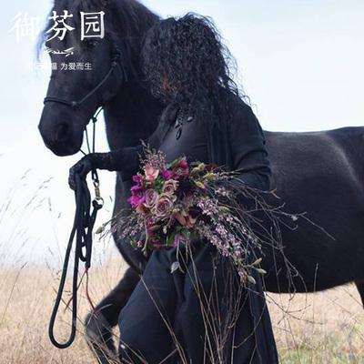 婚庆定制欧式韩式新娘手捧花花束结婚婚礼用花长沙同城鲜花速递