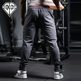 BodyDream bodybuilding station closed mouth small pants men's sports and leisure cotton trousers running pants slim pants
