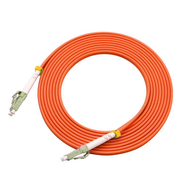 80米LC-LC多模双芯光纤跳线尾纤跳纤电信工程级