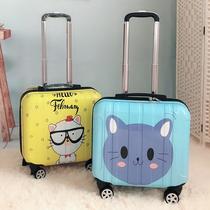 可爱爆款logo大学生旅行箱24卡通行李箱皮箱拉杆箱女个姓韩版定制