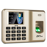 ZKTeco / Central Control wisdom x10 fingerprint machine fingerprint punch machine to work check-in machine fingerprint machine staff finger recognition self-service report card-printing machine
