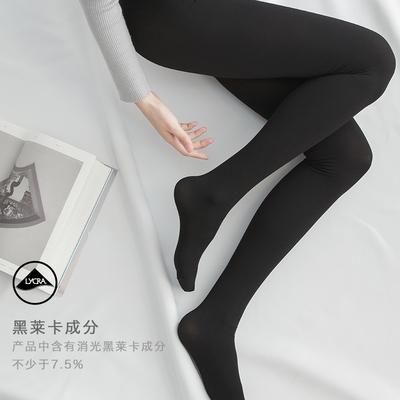 秋冬莱卡棉质条纹弹力显瘦打底裤女连裤袜瘦腿袜打底袜外穿一体裤评价好不好