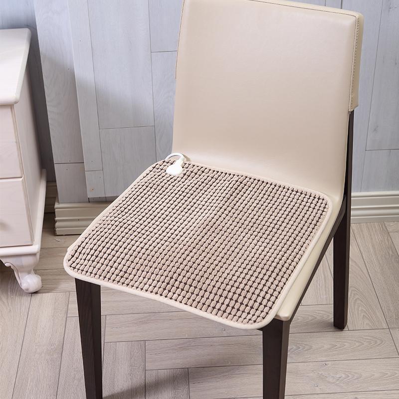 三春办公室座椅加热垫椅子坐垫小电热毯垫子多功能控温发热椅垫
