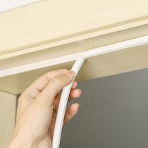 防风卫生间门条保温门胶条密封条门缝防水毛条室内装饰透明门框厨