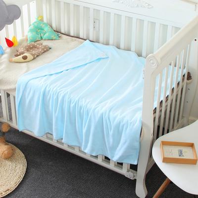 正方形宝宝新生婴儿浴巾儿童吸水柔软小孩洗澡加厚游泳毛巾非纯棉