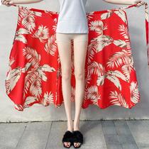 松紧高腰大裙摆纯色半身裙中长款定型伞裙试衣间妞们重点关注