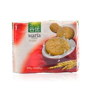 西班牙进口谷优玛丽亚消化饼干即食零食 木糠杯慕斯蛋糕原料800g