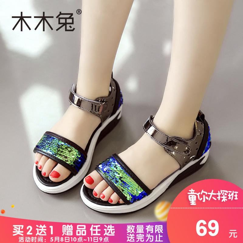 女童时尚女凉鞋