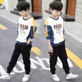 小孩韩版 男孩洋气打底衫 潮卫衣儿童装 长袖 男童秋装 t恤2019新款图片