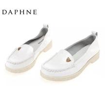 春季新款 浅口方跟女单鞋 达芙妮女鞋 Daphne
