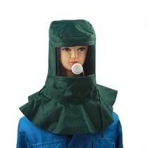 头罩电动车男女防尘帽帆布工作帽搬运帽喷漆电焊透气头套防护面罩