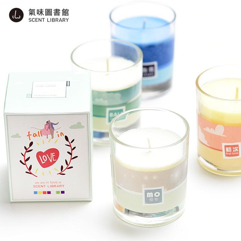 芳香图书馆香薰蜡烛卧室室内家用香薰空气气味剂固体精油香氛