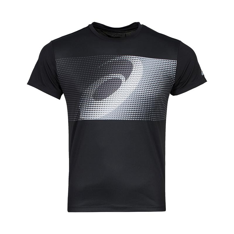 Asics亚瑟士运动短袖跑步训练服夏季透气吸汗男款短袖休闲运动T恤