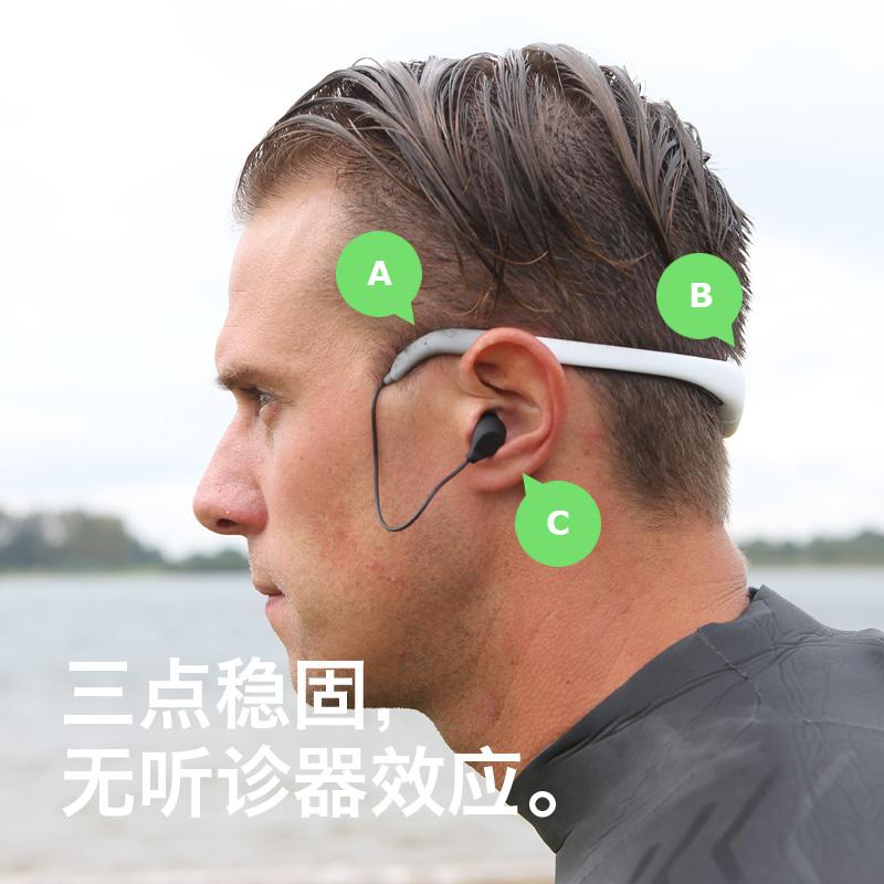 TayogoMP8游泳耳机专业IPX8级防水头戴式蓝牙跑步运动型MP3播放器