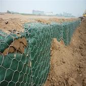 雷洛护垫格宾石笼厂家直销铅丝石笼绿滨垫生态格网笼水利专用丝网