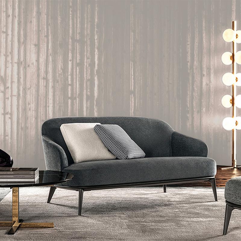 北欧小户型三人位沙发组合现代简约布艺双人沙发客厅宜家实木沙发