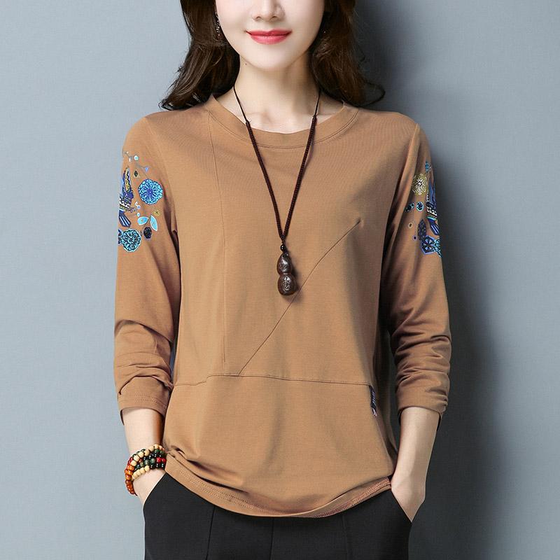 中年韩版体恤衫