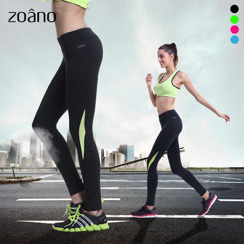 zoano佐纳训练裤修身显瘦长裤运动服女紧身健身裤加大运动裤跑步